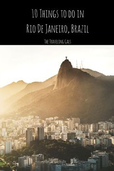 The Marvelous City has no shortage of things to experience during your stay. Here are some popular things to do in Rio de Janiero, Brazil. Backpacking South America, South America Travel, Brazil Travel, Mexico Travel, South America Destinations, Travel Destinations, Travel Guides, Travel Tips, Travel Advice