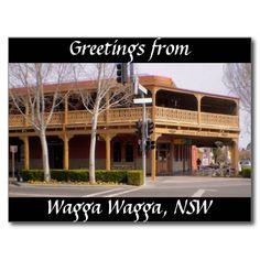 Greetings from Wagga Wagga, NSW