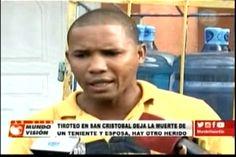 Tiroteo en un colmado de San Cristobal deja la muerte de un teniente, su esposa…