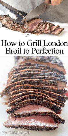 This Java London Broil Recipe is the perfect combination of sweet and spicy. Add a simple fragrant rub to this inexpensive cut of meat throw it on the grill and wow your guests. It is amazing every time. Keto Low Carb Grain-Free Gluten-Free THM S. London Broil Grill Time, London Broil Marinade, Grilled London Broil, London Broil Recipes, Cooking London Broil, What Is London Broil, Grilling Recipes, Beef Recipes