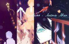 Shinsekai Yori: Animated SatoruxShun Comic by sakonma.deviantart.com on @DeviantArt