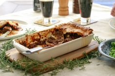 Guinness - nectar of the Gods. With St Paddy's day on the horizon we thought we should share a Guinness (or 4) and Beef and Guinness Pie!