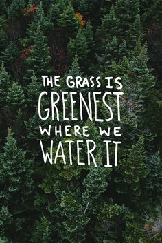 Monday Words: The Grass is Green (The Fresh Exchange) Quotes To Live By, Me Quotes, Motivational Quotes, Inspirational Quotes, Cool Words, Wise Words, Water Quotes, Deep, Beautiful Words
