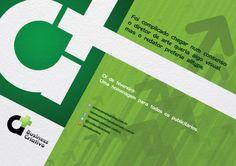 Dia do Publicitário A+.  Para homenagear o dia do Publicitário, a A+ criou uma peça para cada setor.
