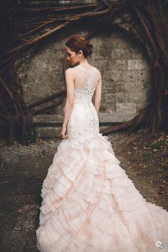 Mel Orlina wedding dress - Gorgeous Gracefulness | Bride and Breakfast