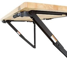 folding wall mounted workbench by bench solution saves. Black Bedroom Furniture Sets. Home Design Ideas