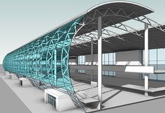 provide high quality Structural Modeling, Steel Detailing, Clash Detection Services to global clients. Steel Structure Buildings, Roof Structure, Building Structure, Architecture Design, System Architecture, Cladding Design, Facade Design, Structural Model, Architectural Section