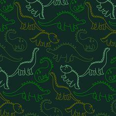 Dinosaur Pattern, Dinosaur Art, Cute Dinosaur, Dog Pattern, Tiger Illustration, Dinosaur Illustration, Pattern Illustration, Dinosaur Wallpaper, Tropical Animals