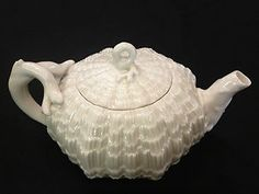 There are utensil marks. The area inside of the foot rim is unglazed. Images are of actual item. Teapots And Cups, Teacups, Belleek China, Teapot Design, China Display, Chocolate Pots, Vintage China, Tea Cup Saucer, Fine China