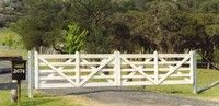 Looking for double gates to fit openings? Authentic Gates produces hand made timber gates like the double estate gate. The perfect entrance solution. Timber Gates, Sawn Timber, Double Gate, Garden Bridge, Signage, Natural Beauty, Entrance, Outdoor Structures, Store