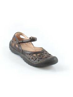 Women Jambu Brown Leather Mary Janel Shoe Size 8 M #Jambu #MaryJanes