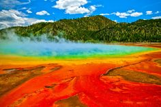 """One of the latest fatalities in Yellowstone occurred this summer, when a 23-year-old Oregon man slipped and fell into a hot spring while attempting to test the water. Authorities think that he and his sister, who was not harmed, were likely trying to """"hot pot,"""" or take an illicit dip His body was never recovered from the pool — authorities believe that the burning, acidic water likely dissolved his remains"""