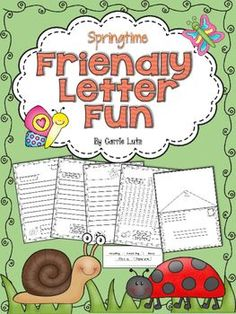 This Springtime Friendly Letter pack is loaded with engaging ways for your young students to learn about writing a friendly letter.  The letter turns into an envelope when you copy the envelope template onto the back of the letter page. Just fold the page in half.Your students can then learn to fill out an envelope and write a friendly letter!The letter writing template comes in several different formats.