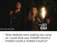 The 100 #confessthe100 #Bellarke
