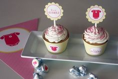 """FREE """"It's a Girl"""" Baby Shower Printables from Green Apple Paperie"""