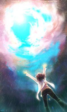 Open up the sky, por Yuumei