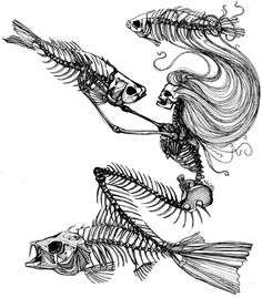 Mermaid Tattoo Sketch: Real Photo, Pictures, Images and Sketches ...