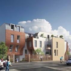 ROMAINVILLE (93) - Devenez propriétaire aux portes de Paris dans une ville aux multiples atouts. 49 appartements, du studio au 5 pièces, répartis au sein de deux bâtiments de faible hauteur articulés autour du cœur d'îlot paysager.