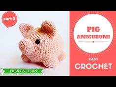 How to Crochet Amigurumi Pig Crocheting can be very intimidating if you are a beginner. Learning how to read the patterns is quite confusing. In this page I've listed the various abbriviations and instructions which can help you make your own crochet pig.  Repeat after me Crochet Pig Video For the visual learners I… Read more