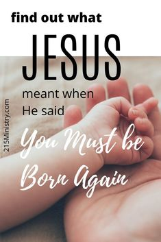 You're right, you cannot be born a second time, so what was Jesus talking about being born again? This is a great teaching to share with your unsaved friends. #bornagain #salvation #gospel #gospelmessage #bible #biblestudy