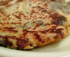 Chickpea flour instead of eggs. Sans Gluten Vegan, Gluten Free, Going Vegan, Frittata, Street Food, Lasagna, Spicy, Healthy Recipes, Healthy Foods