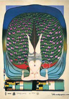 Hundertwasser ~ Austrian artist and architect