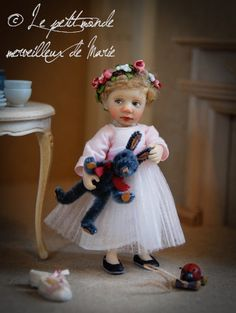 Catherine Muniere doll...so much personality in a tiny little girl!