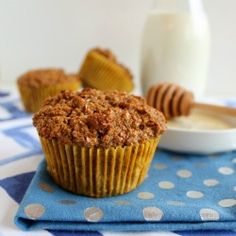 Finally - a bran muffin that is both healthy AND delicious. Lots of fiber and no refined sugar. Freezes very well, too.