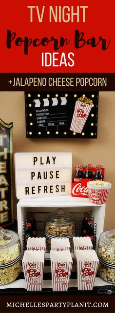 Enjoy an ultimate TV night in with this recipe for Jalapeño Cheese Popcorn that pairs perfectly withCoca-Cola. AD#playpauserefresh