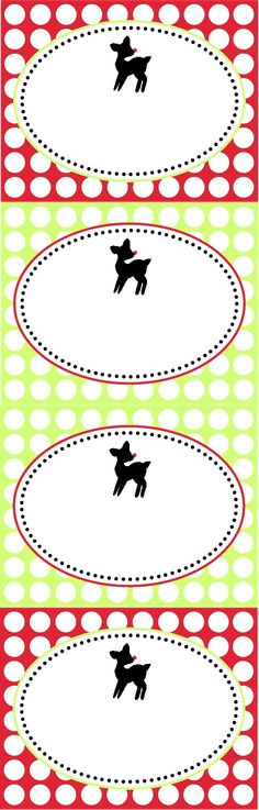 Printable Reindeer Feed Tag