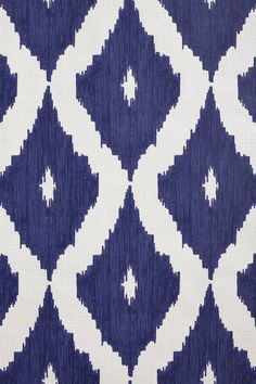Can't get enough ikat print! Coursing Ikat Wallpaper