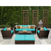 Found it at Wayfair - Barbados 8 Piece Deep Seating Group with Cushion