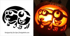 160 besten pumpkin carving pattern bilder auf pinterest. Black Bedroom Furniture Sets. Home Design Ideas