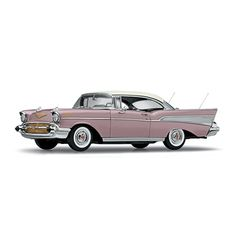 Danbury Mint: 1957 Chevrolet Bel Air Sports Coupe - Dusk Pearl (0309-0172) in 1:24 scale