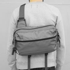 The Slingpack is the perfect lightweight bag designed to carry just the necessities for a daily excursion. Ideal for those that want something minimalistic yet