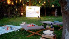 Homelife - How To Create An Outdoor Cinema