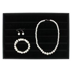 slowsilent Bridal Wedding Party Rhinestone Faux Pearl jewelry Sets Necklace  Earrings  2Row Bracelet Set -- To view further for this item, visit the image link.-It is an affiliate link to Amazon.