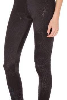 Wicked Web Black Leggings - LIMITED (WW $70AUD / US $65USD) by Black Milk Clothing