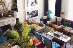 Kick Ass Room Friday – Revamped Manhattan Brownstone | Edyta & Co. Interior Design - Chicago Interior Design Firm