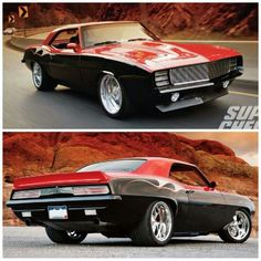 Chevy with Chip Foose style two tone spray job. Looks amazing.