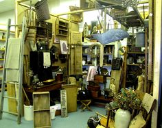 St Jacobs Antiques booth - St Jacobs, Ontario