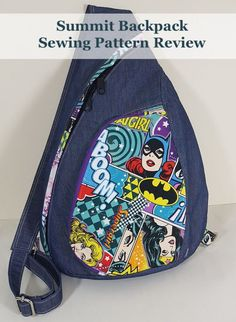 Modern Bag patterns, PDF Sewing patterns, Pouch Sewing Patterns and Paper patterns available for beginner sewists. Learn how to sew easy bag sewing patterns today. Bag Patterns To Sew, Sewing Patterns Free, Sewing Tutorials, Love Sewing, Hand Sewing, Mochila Jeans, Backpack Pattern, Backpack Sewing Patterns, Sewing Leather