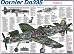 1944 Dornier Do 335: A Really Big Push/Pull Speedster From WWII (+Video) - blog - AirPigz