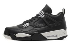 release date 09839 a4e0c 2015 Air Jordan 4 (VI) Oreo Black Leather White Speckle Remastered For Sale Air  Jordan 4 - Nike official website Up to discount