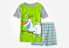How about this adorable set of boys PJs for a Disney Frozen gift idea?