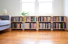 Lovely bookshelves.