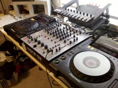 A&H Xone 92 Rotary Dj Setup, Pioneer Dj, Dj Gear, Dj Booth, Dj Equipment, All About Music, House Music, Dance Music, Rotary