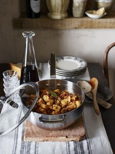 Ricotta Gnocchetti with Beef Ragu from Portland chef Jenn Louis' new book Pasta by Hand.