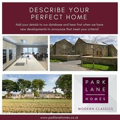 New Start, The Next, New Builds, Modern Classic, Yorkshire, This Is Us, New Homes, Ads, Marketing
