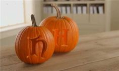 Make your mark on pumpkin carving this Halloween season with a monogrammed pumpkin display! Learn how to properly carve your initials into any pumpkin.
